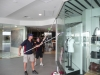 Broadbeach shop front window cleaning