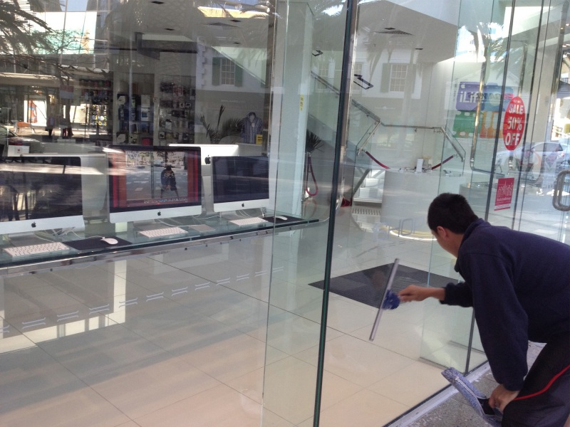 Shop Front Window Cleaning All Clear Windows