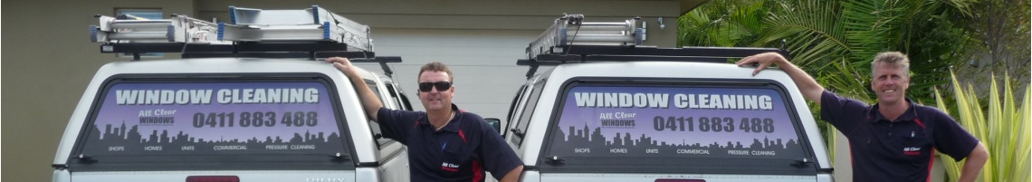 Window cleaners and vehicles